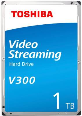 "HDKPJ42ZBA01 Toshiba V300 1TB 3.5"" Internal Video Streaming Hard Drive"