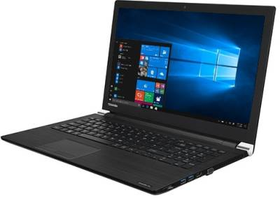 "R50-E-1DQ Toshiba Satellite R50-E 7th gen Notebook Intel Dual i3-7020U 2.30Ghz 4GB 1TB 15.6"" WXGA HD HD620 BT Win 10 Pro"